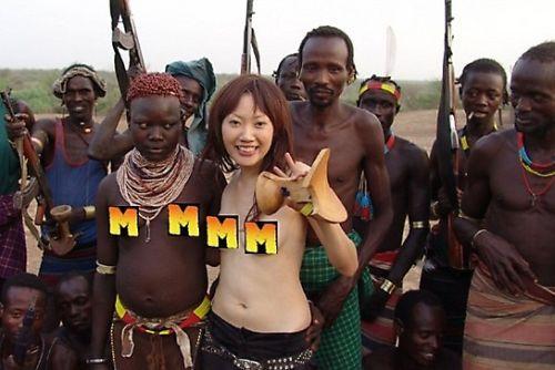 Эротика народа африки